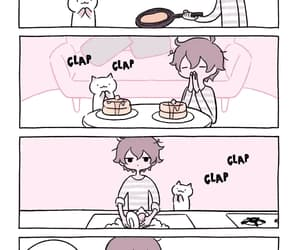 animals, cat, and comics image