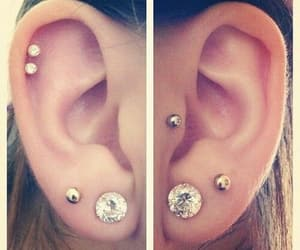 constellation, double helix, and ear image