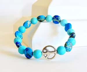 etsy, peace bracelet, and peace and healing image