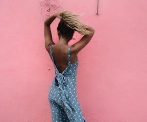 dress, skin, and blue image