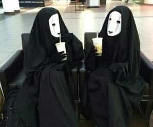 black, cosplay, and no face image
