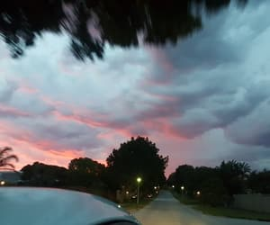 beautiful, clouds, and sunset image