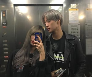 couple, asian, and girl image