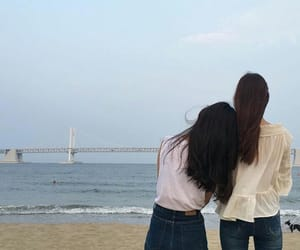 girl, guneo_hj, and bff image