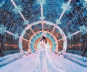 cold, colors, and dress image
