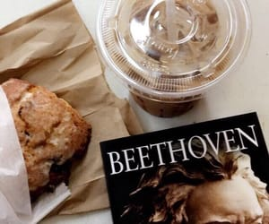 coffee, Beethoven, and food image