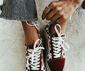 shoes, jeans, and red image