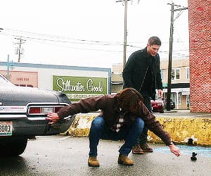 gif, brothers, and dean winchester image
