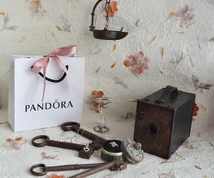 key, pandora, and vintage style image