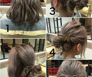 hair, hairstyle, and tutorials image