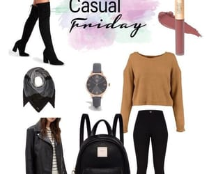 leather, leather jacket, and outfit image
