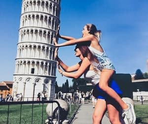friends, bff, and italy image