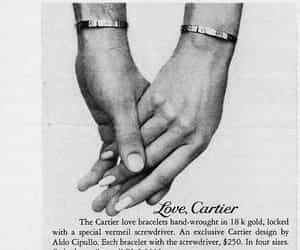 cartier, couple, and love image
