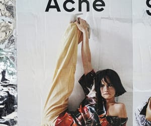 acne, fashion, and poster image