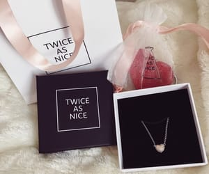 gift, heart, and jewelry image
