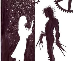 edward scissorhands, edward, and tim burton image