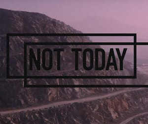 header, bts, and not today image