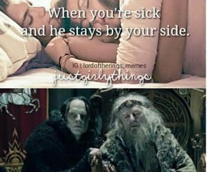 funny, lord of the rings, and meme image