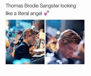 angel, thomas sangster, and thomas brodie sangster image