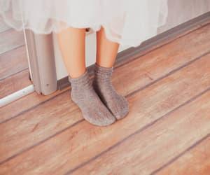 girl, photography, and socks image
