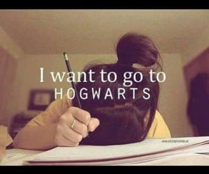 harrypotter, school, and hogwart image