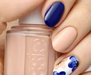 azul, belleza, and flores image