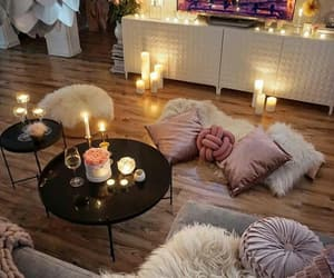 candles, room, and beautiful image