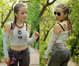 tattoo and chic look image