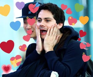reaction and dylan o'brien image