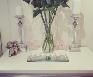 candles, decor, and silver image