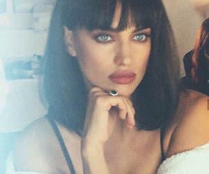 bangs, blue eyes, and Irina image