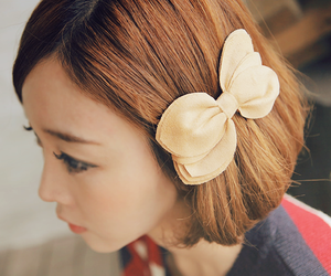 asian, bow, and fashion image