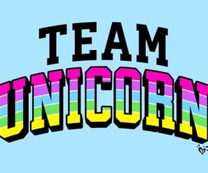 unicorn, team, and colors image