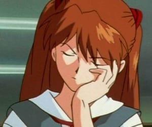 anime, Neon Genesis Evangelion, and asuka langley soryu image