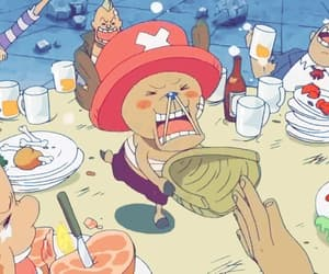 gif, one piece, and tony tony chopper image