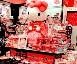pink, hello kitty, and japan image
