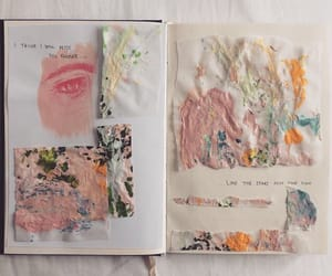 art, tumblr, and journal image