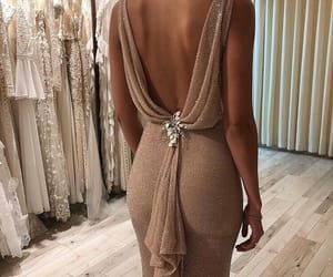 chic, dress, and fancy image