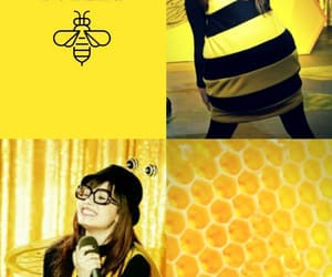 demi, Sunny, and yellow image