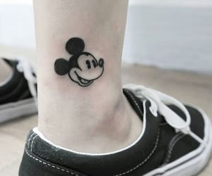 ankle, disney, and black image