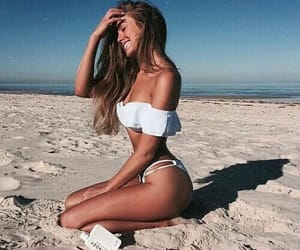 beach, tumblrgirls, and fashion image