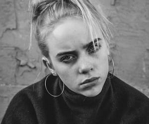 b&w, billie, and beauty image