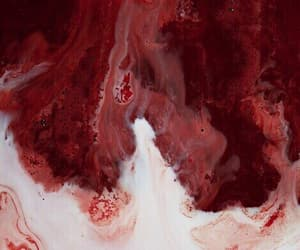 red, aesthetic, and blood image