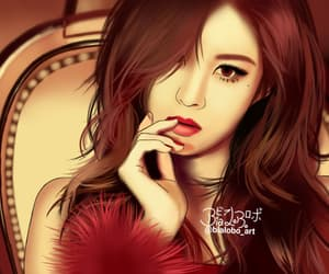 fan art, gg, and girls' generation image