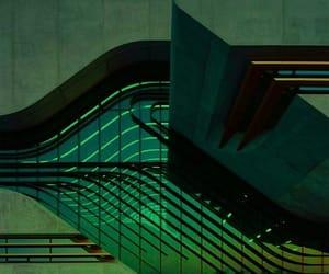 green and cyberpunk image