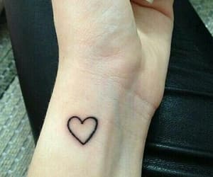heart, tattoo, and grunge image