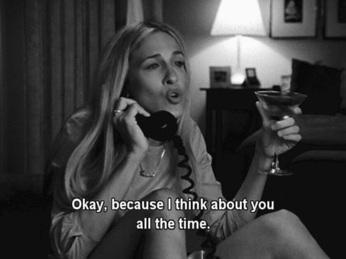 quotes, sex and the city, and Carrie Bradshaw image