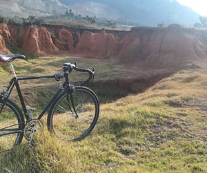 bike, colombia, and Dream image