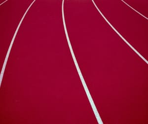lines, red, and track image