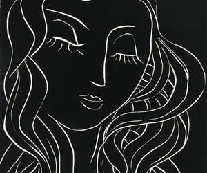 art, illustration, and beauty image